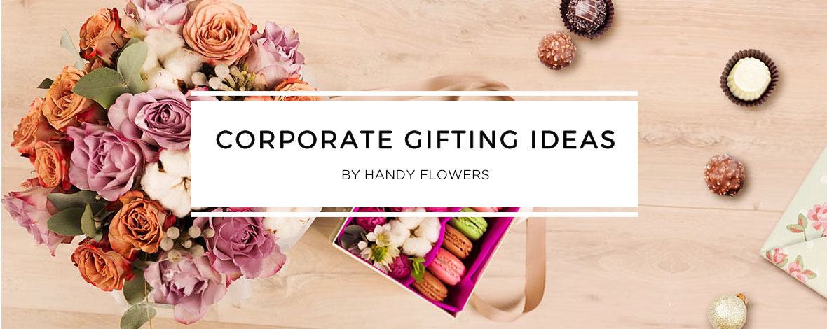Corporate gifting ideas by Handy Flowers